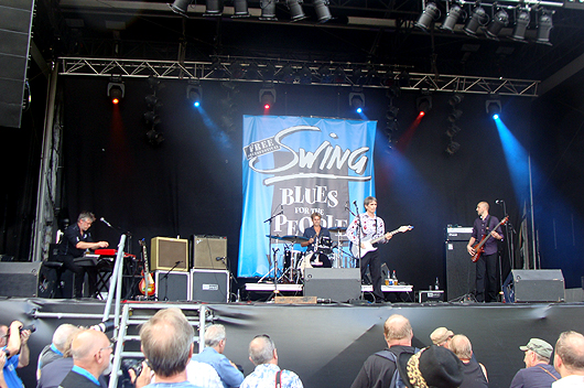 Charlie Morris Band at the Swing Festival, Wespelaar, Belgium