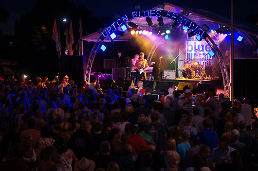 Upton Blues Festival, UK. Photo by Graham Munn.
