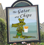Gator n Chips, the new live CD from the Charlie Morris Band