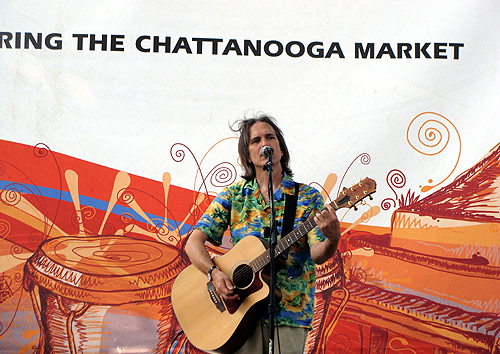 Charlie Morris at the Chattanooga Market